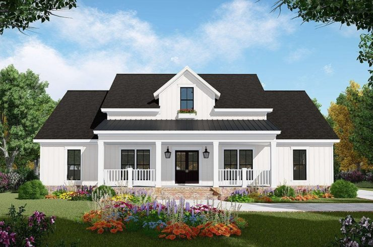 Building a Modern Farmhouse From Plans On Your Own Lot.